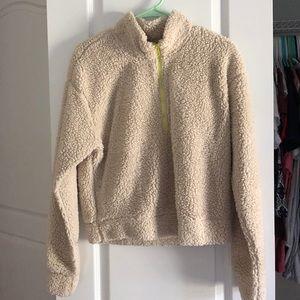 Sweaters - Beige Warm Teddy Coat